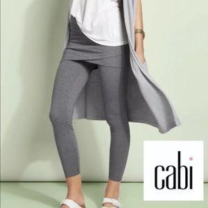 Cabi XL M'Leggings Skirted Leggings Grey NEW